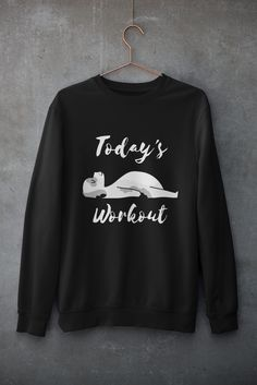 I just love Sunday mornings! So chill and relaxing. Perfect time to sip coffee! Are you a coffee lover? What's your favorite time to drink it? Long Sleeve Tee Shirts, T Shirt, New Today, Mornings, Just Love, Chill, Sunday, Drink, Workout