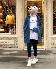 Style hijab ootd fashion dresses 58 ideas Style hijab ootd fashion dresses 58 ideas basement window well - Basement Velvet outfits in warm hijab styles Modern Hijab Fashion, Street Hijab Fashion, Muslim Fashion, Ootd Fashion, Fashion Dresses, Paris Fashion, Casual Hijab Outfit, Hijab Chic, Stylish Hijab