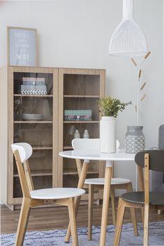 Slow mesa de comedor/cocina redonda