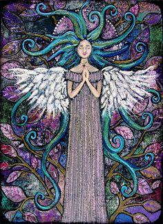 "@Monique Pol  ""Angel of Silver Lining"" by Margaret Blanchett 2010"