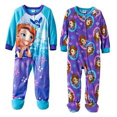 Disney Sofia The First Footed Pajama Set - Toddler