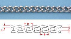 Twist Link Chain  .3-.59 inch links
