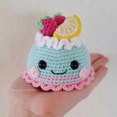 Pastry / Cake PDF pattern amigurumi crochet by SuperCuteDesignShop
