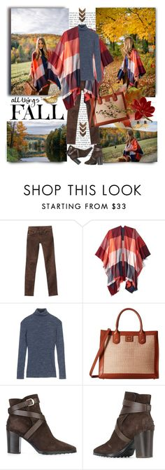 """Fall Comforts"" by jacque-reid ❤ liked on Polyvore featuring 7 For All Mankind, Old Navy, Fat Face, Emma Fox, Tod's and WALL"