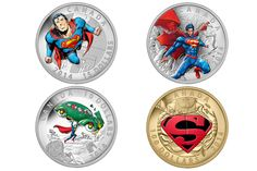 TRUTH, JUSTICE AND THE CANADIAN WAY: ROYAL CANADIAN MINT ISSUES FOUR NEW SUPERMAN COINS