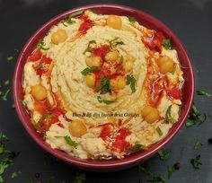 Nausea paste (hummus) – Goodies from Gicuței's kitchen – About Healthy Meals Goodies, Healthy Recipes, Healthy Meals, Hummus, Bacon, Food And Drink, Yummy Food, Vegan, Paste