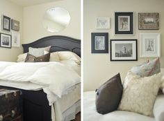 great post on decorating with photos