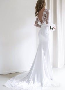 White Lace Wedding Dress, Wedding Dress Sleeves, Long Sleeve Wedding, Elegant Wedding Dress, Dresses With Sleeves, Dress Wedding, Dress Lace, Modest Wedding, Lace Sleeves