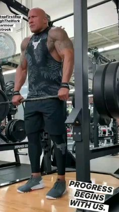 The Rock Dwayne Johnson Workout, The Rock Workout, Full Body Workout Routine, Gym Workout Videos, Gym Workout For Beginners, Gym Workouts For Men, Shoulder Workout Routine, Shoulder Workouts For Men, Muscle Fitness