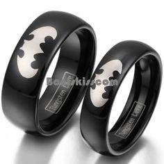 Brilliant Batman Mens Wedding Ring Review
