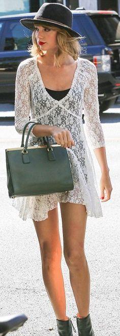 Taylor Swift #celebrity #streetstyle