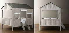 Fort-like cabin bed offers cozy space for your child to slumber ...
