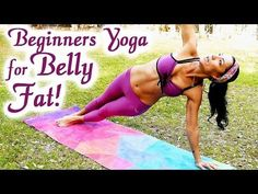 20 Minute Yoga Workout: Bye-Bye BELLY FAT!! Beginners Weight Loss at Home for Abs, Exercise Routine - YouTube