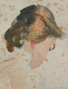 John Singer Sargent watercolor, detail   Flickr - Photo Sharing!