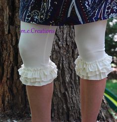 Layers of Ruffles Leggings- Available in Ladies Sizes Small-Large