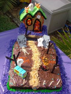 Haunted Scooby Doo Cake