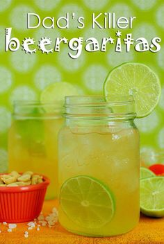 Dads Killer Beergaritas via Iowa Girl Eats-these are going to be my secret weapon for Fathers Day for my husband!