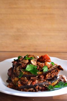 Paleo Eggplant Lasagna-- my daughter made this and it was delicious!