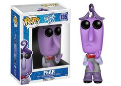 Forbidden Planet Inside Out Fear Disney-Pixar Pop! Vinyl Figure - The Inside Out Fear Disney-Pixar Pop! Vinyl Figure features the anxious emotion voiced by Bill Hader and measures approximately 3 tall. Disney Pop, Disney Pixar, Film Disney, Kawaii Disney, Funk Pop, Pixar Inside Out, Disney Inside Out, Figurine Disney, Pop Figurine
