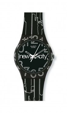 Swatch® US - LINES IN THE SKY
