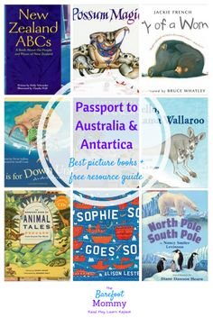 Travel the world with picture books: top pics for children's picture books set in Australia, Oceania, and Antarctica. These 9 books help kids explore culture, history, animals and more. Includes a free downloadable resource pack for raising global kids!