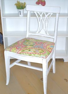 SOLD shabby chic furniture shabby chic chair by backporchco on Etsy, $64.00