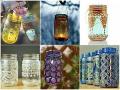 Pretty DIY maroccan style lanterns
