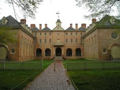 Wren Building at the College of William & Mary