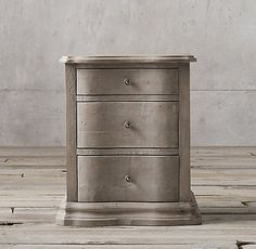 Rh Louis Xvi 30 Quot Closed Nightstand Color Aged Oak Item