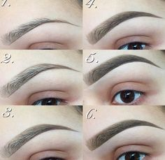 How to make your eyebrows thicker with makeup   Eyebrow