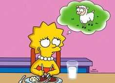 vegan quotes funny | meat eating lisa simpson Funny Vegan quotes: 25 funny and others not ...