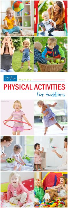 Physical Activities For Toddlers: If you are looking to give your toddler a more active life, look no further! We have compiled this list of some super fun toddler physical activities, which will surely catch your little one's attention!Here are some amazing physical development activities for toddlers!