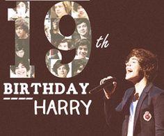 happy birthday harry +19