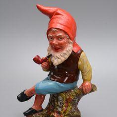 Antique TerraCotta Gnome