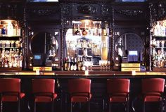 black back bar glossy