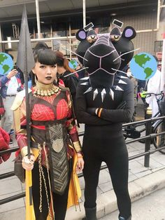 Black Panther Cosplaying level - expert Photo by B. Jobbert