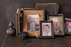 You'll never look at loved ones the same way after transforming their images into a ghostly display.  Get the tutorial: Paranormal Portraits   - CountryLiving.com