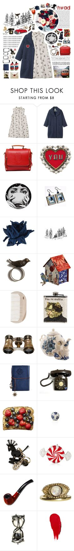 """""""Lakeside Ladies Knitting Circle"""" by distantfirewaves ❤ liked on Polyvore featuring Toast, Lanvin, Robert Clergerie, Fornasetti, Erika Cavallini Semi-Couture, MIHO, HAY, See by Chloé, Judith Leiber and Rodin"""