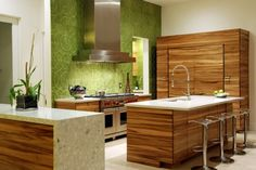Contemporary kitchen by Design Works-General Contractor's Inc.