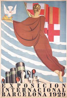 #Barcelona Expo Poster, 1929