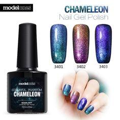 3PCS Modelones UV LED Chameleon Gel Nail Polish