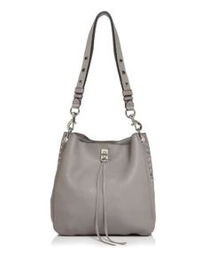 cfdcd9a96a Darren Leather Shoulder Bag. Grey FashionOnline BagsLeather ...