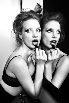 Queen Jessica Chastain by Ellen von Unwerth