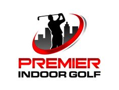 Great indoor #golf #logo design designed by ingepro and purchased at Logo123.com