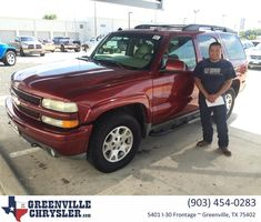 Greenville Chrysler Jeep Dodge Ram Customer Review  Nice,easy,very professional, and easy to talk to.  Carlos Delbosque  Carlos, https://deliverymaxx.com/DealerReviews.aspx?DealerCode=J122&ReviewId=61595  #Review #DeliveryMAXX #GreenvilleChryslerJeepDodgeRam