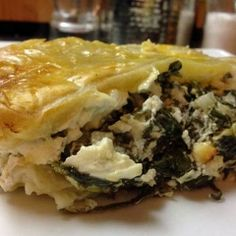 Greek Yogurt Spanakopita