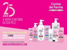 """Amostras e Passatempos: Passatempo """"Histórias da Pele"""" by Corine de Farme"""
