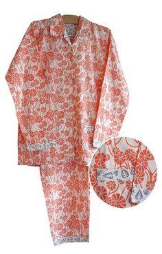 Chinese Umbrella Women's Pajamas