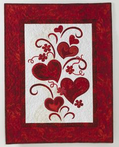 free+wall+quilt+patterns+of+dogs | Free Valentine's quilt patterns - National Quilting | Examiner.com