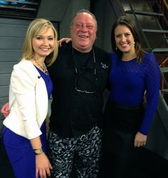 Chef Bruce on KFOR Morning with Lacey and  Emily.